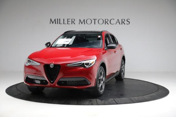 New 2021 Alfa Romeo Stelvio Sprint for sale $50,535 at Maserati of Greenwich in Greenwich CT 06830 1