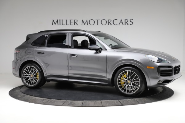 Used 2020 Porsche Cayenne Turbo for sale $145,900 at Maserati of Greenwich in Greenwich CT 06830 11
