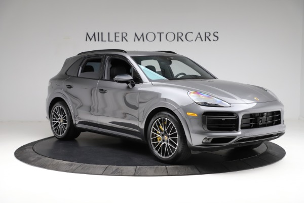 Used 2020 Porsche Cayenne Turbo for sale $145,900 at Maserati of Greenwich in Greenwich CT 06830 12