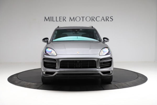 Used 2020 Porsche Cayenne Turbo for sale $145,900 at Maserati of Greenwich in Greenwich CT 06830 13