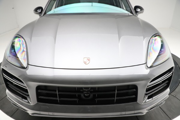 Used 2020 Porsche Cayenne Turbo for sale $145,900 at Maserati of Greenwich in Greenwich CT 06830 14