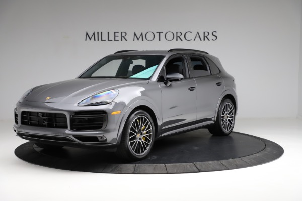 Used 2020 Porsche Cayenne Turbo for sale $145,900 at Maserati of Greenwich in Greenwich CT 06830 2