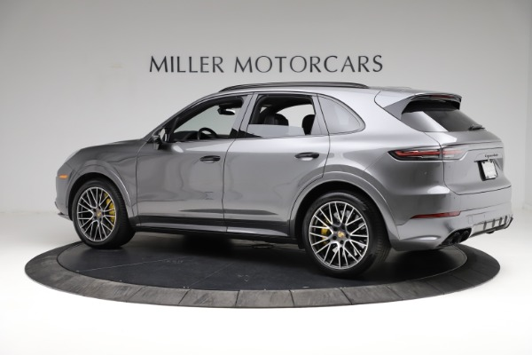 Used 2020 Porsche Cayenne Turbo for sale $145,900 at Maserati of Greenwich in Greenwich CT 06830 4