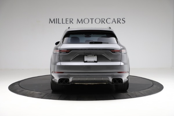 Used 2020 Porsche Cayenne Turbo for sale $145,900 at Maserati of Greenwich in Greenwich CT 06830 6