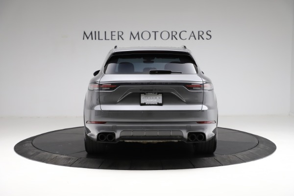 Used 2020 Porsche Cayenne Turbo for sale $145,900 at Maserati of Greenwich in Greenwich CT 06830 7