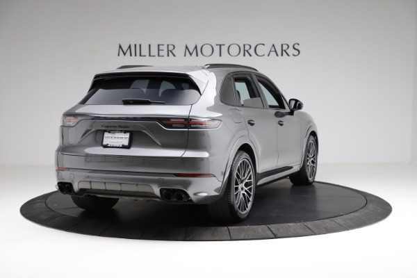 Used 2020 Porsche Cayenne Turbo for sale $145,900 at Maserati of Greenwich in Greenwich CT 06830 8