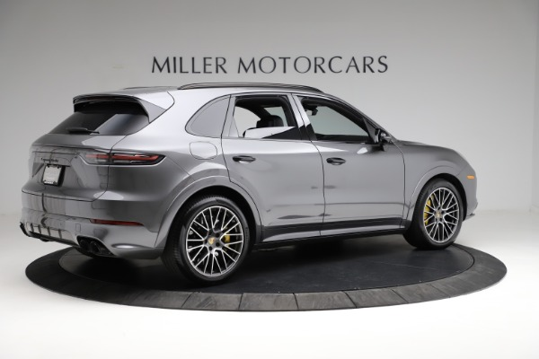 Used 2020 Porsche Cayenne Turbo for sale $145,900 at Maserati of Greenwich in Greenwich CT 06830 9