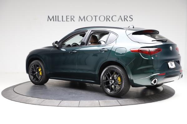 New 2021 Alfa Romeo Stelvio Ti for sale $53,650 at Maserati of Greenwich in Greenwich CT 06830 4
