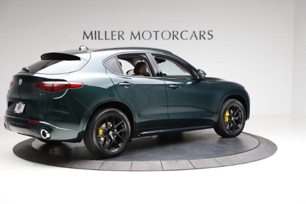 New 2021 Alfa Romeo Stelvio Ti for sale $53,650 at Maserati of Greenwich in Greenwich CT 06830 8