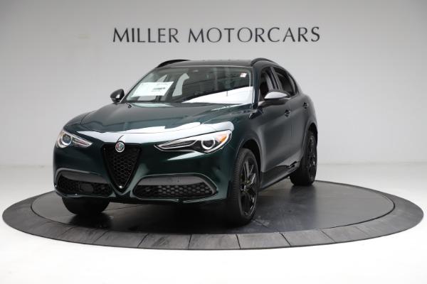 New 2021 Alfa Romeo Stelvio Ti for sale $53,650 at Maserati of Greenwich in Greenwich CT 06830 1