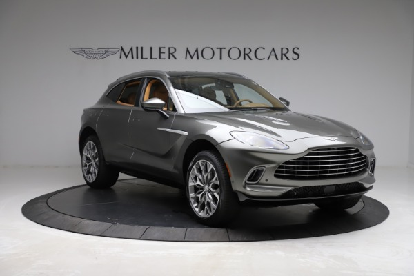 New 2021 Aston Martin DBX for sale $211,486 at Maserati of Greenwich in Greenwich CT 06830 10
