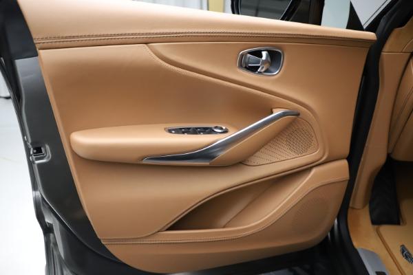 New 2021 Aston Martin DBX for sale $211,486 at Maserati of Greenwich in Greenwich CT 06830 16