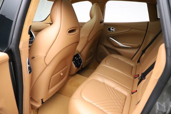 New 2021 Aston Martin DBX for sale $211,486 at Maserati of Greenwich in Greenwich CT 06830 19