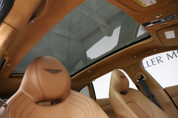 New 2021 Aston Martin DBX for sale $211,486 at Maserati of Greenwich in Greenwich CT 06830 25