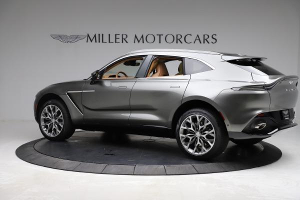 New 2021 Aston Martin DBX for sale $211,486 at Maserati of Greenwich in Greenwich CT 06830 3