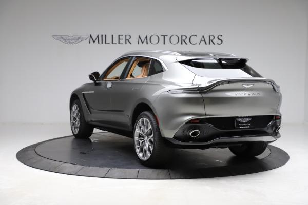 New 2021 Aston Martin DBX for sale $211,486 at Maserati of Greenwich in Greenwich CT 06830 4