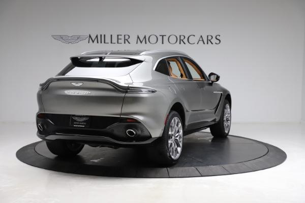 New 2021 Aston Martin DBX for sale $211,486 at Maserati of Greenwich in Greenwich CT 06830 6