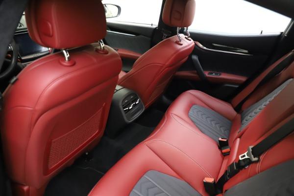 Used 2018 Maserati Ghibli SQ4 GranLusso for sale $55,900 at Maserati of Greenwich in Greenwich CT 06830 13