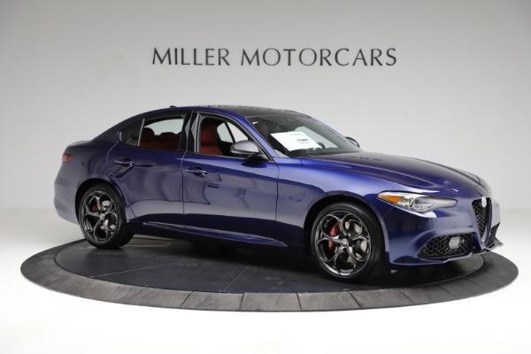 New 2021 Alfa Romeo Giulia Ti Sport for sale $54,050 at Maserati of Greenwich in Greenwich CT 06830 11