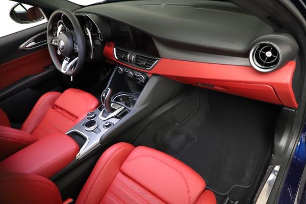 New 2021 Alfa Romeo Giulia Ti Sport for sale $54,050 at Maserati of Greenwich in Greenwich CT 06830 19