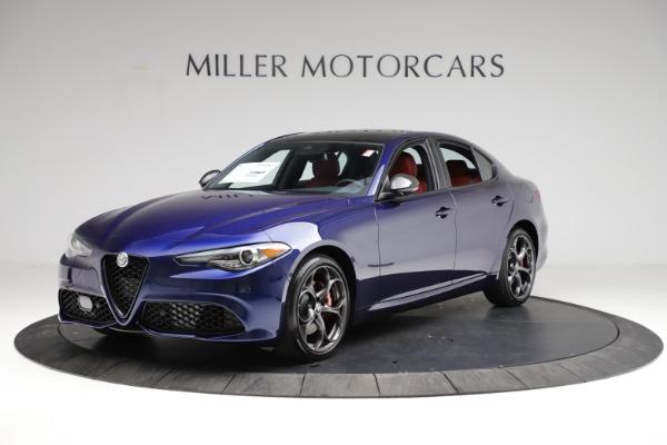 New 2021 Alfa Romeo Giulia Ti Sport for sale $54,050 at Maserati of Greenwich in Greenwich CT 06830 2