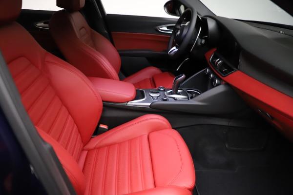 New 2021 Alfa Romeo Giulia Ti Sport for sale $54,050 at Maserati of Greenwich in Greenwich CT 06830 20