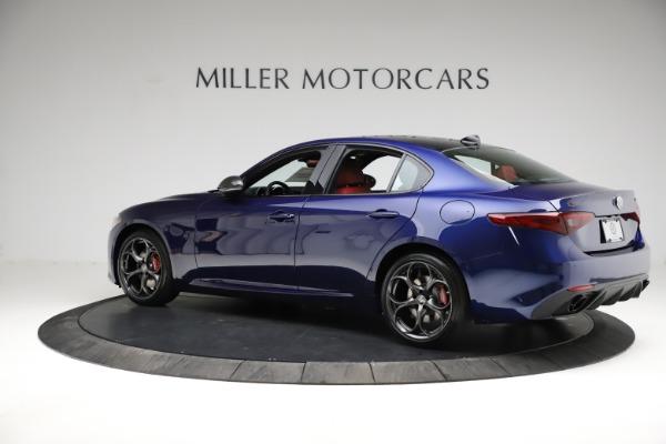 New 2021 Alfa Romeo Giulia Ti Sport for sale $54,050 at Maserati of Greenwich in Greenwich CT 06830 4
