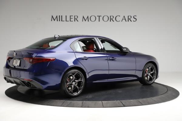 New 2021 Alfa Romeo Giulia Ti Sport for sale $54,050 at Maserati of Greenwich in Greenwich CT 06830 8