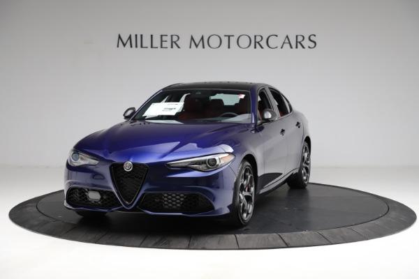 New 2021 Alfa Romeo Giulia Ti Sport for sale $54,050 at Maserati of Greenwich in Greenwich CT 06830 1
