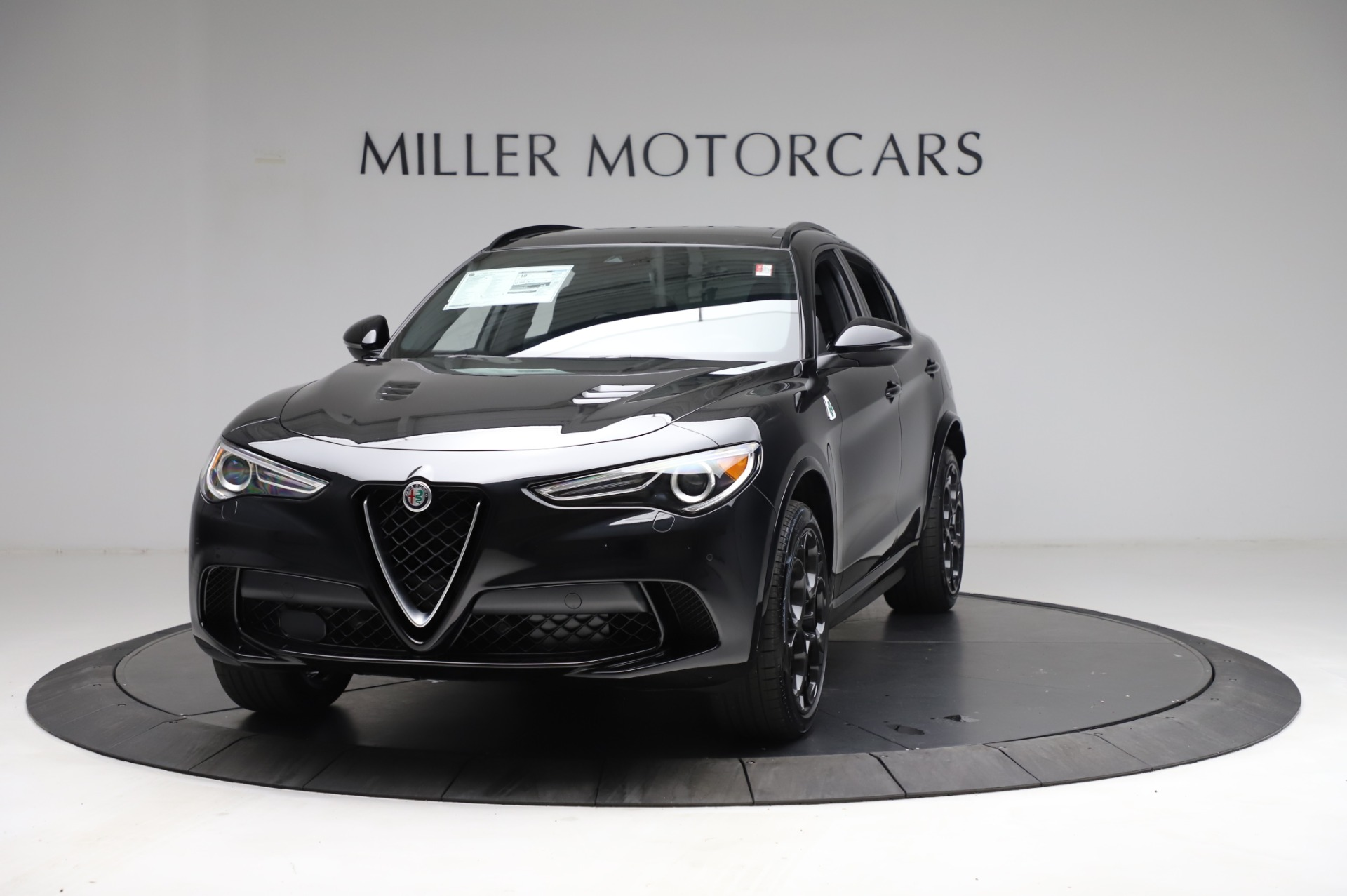 New 2021 Alfa Romeo Stelvio Quadrifoglio for sale $90,450 at Maserati of Greenwich in Greenwich CT 06830 1