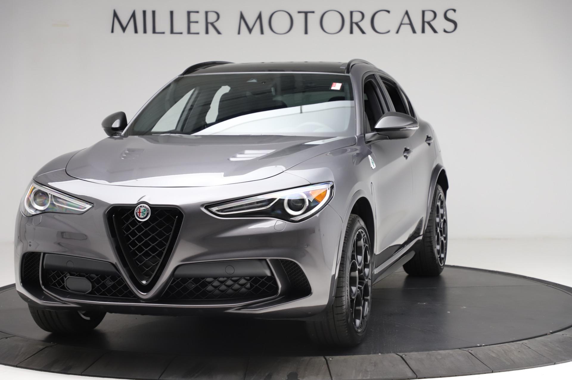 New 2021 Alfa Romeo Stelvio Quadrifoglio for sale $91,750 at Maserati of Greenwich in Greenwich CT 06830 1
