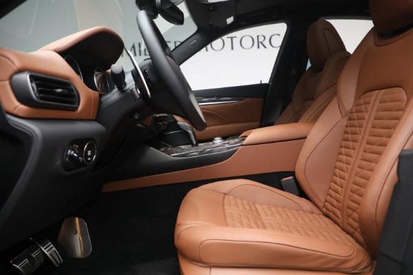 New 2021 Maserati Levante S Q4 GranSport for sale Call for price at Maserati of Greenwich in Greenwich CT 06830 16
