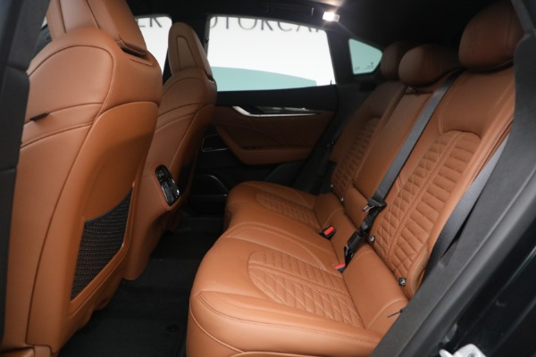 New 2021 Maserati Levante S Q4 GranSport for sale Call for price at Maserati of Greenwich in Greenwich CT 06830 26