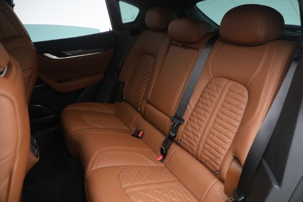 New 2021 Maserati Levante S Q4 GranSport for sale Call for price at Maserati of Greenwich in Greenwich CT 06830 27