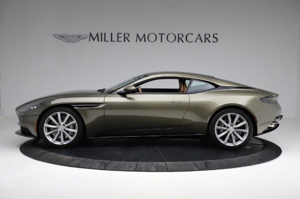 Used 2018 Aston Martin DB11 V8 for sale $151,900 at Maserati of Greenwich in Greenwich CT 06830 2
