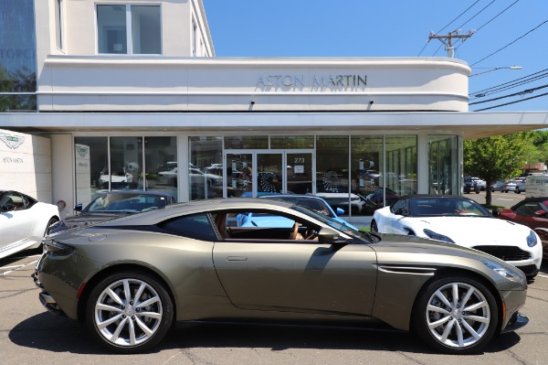 Used 2018 Aston Martin DB11 V8 for sale $151,900 at Maserati of Greenwich in Greenwich CT 06830 22