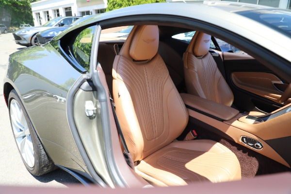 Used 2018 Aston Martin DB11 V8 for sale $151,900 at Maserati of Greenwich in Greenwich CT 06830 23