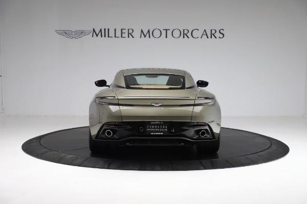 Used 2018 Aston Martin DB11 V8 for sale $151,900 at Maserati of Greenwich in Greenwich CT 06830 5