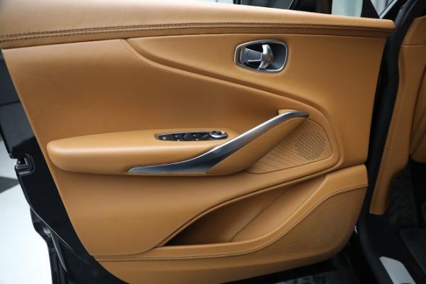 New 2021 Aston Martin DBX for sale $207,886 at Maserati of Greenwich in Greenwich CT 06830 16