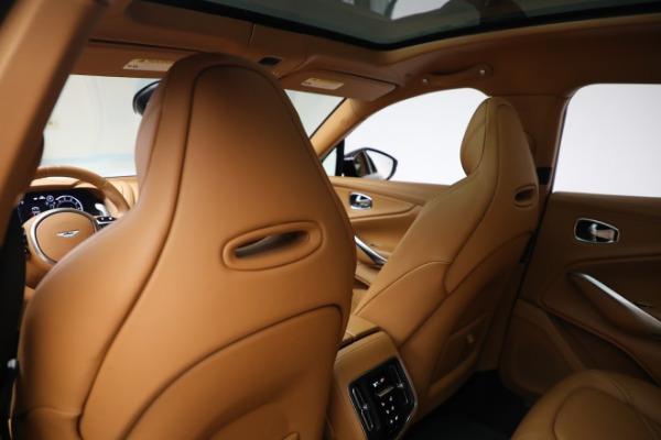 New 2021 Aston Martin DBX for sale $207,886 at Maserati of Greenwich in Greenwich CT 06830 21