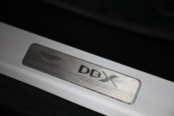 New 2021 Aston Martin DBX for sale $207,886 at Maserati of Greenwich in Greenwich CT 06830 22