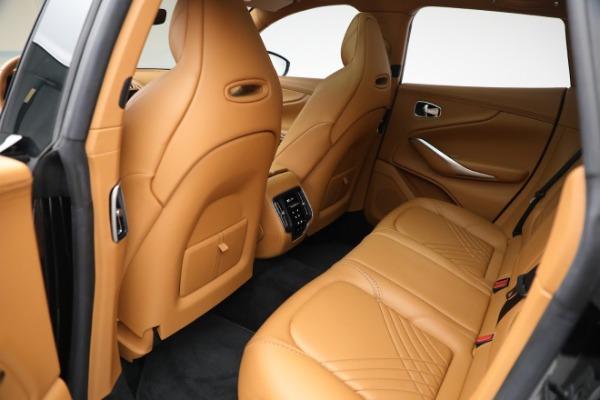 New 2021 Aston Martin DBX for sale $207,886 at Maserati of Greenwich in Greenwich CT 06830 25