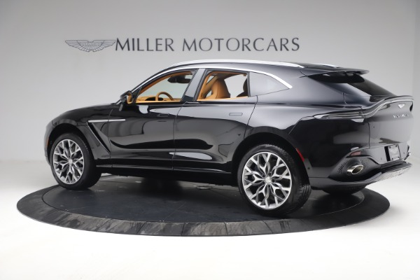 New 2021 Aston Martin DBX for sale $207,886 at Maserati of Greenwich in Greenwich CT 06830 3