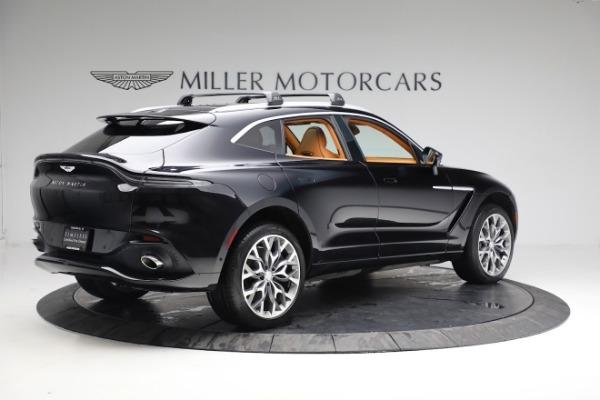 New 2021 Aston Martin DBX for sale $207,886 at Maserati of Greenwich in Greenwich CT 06830 7
