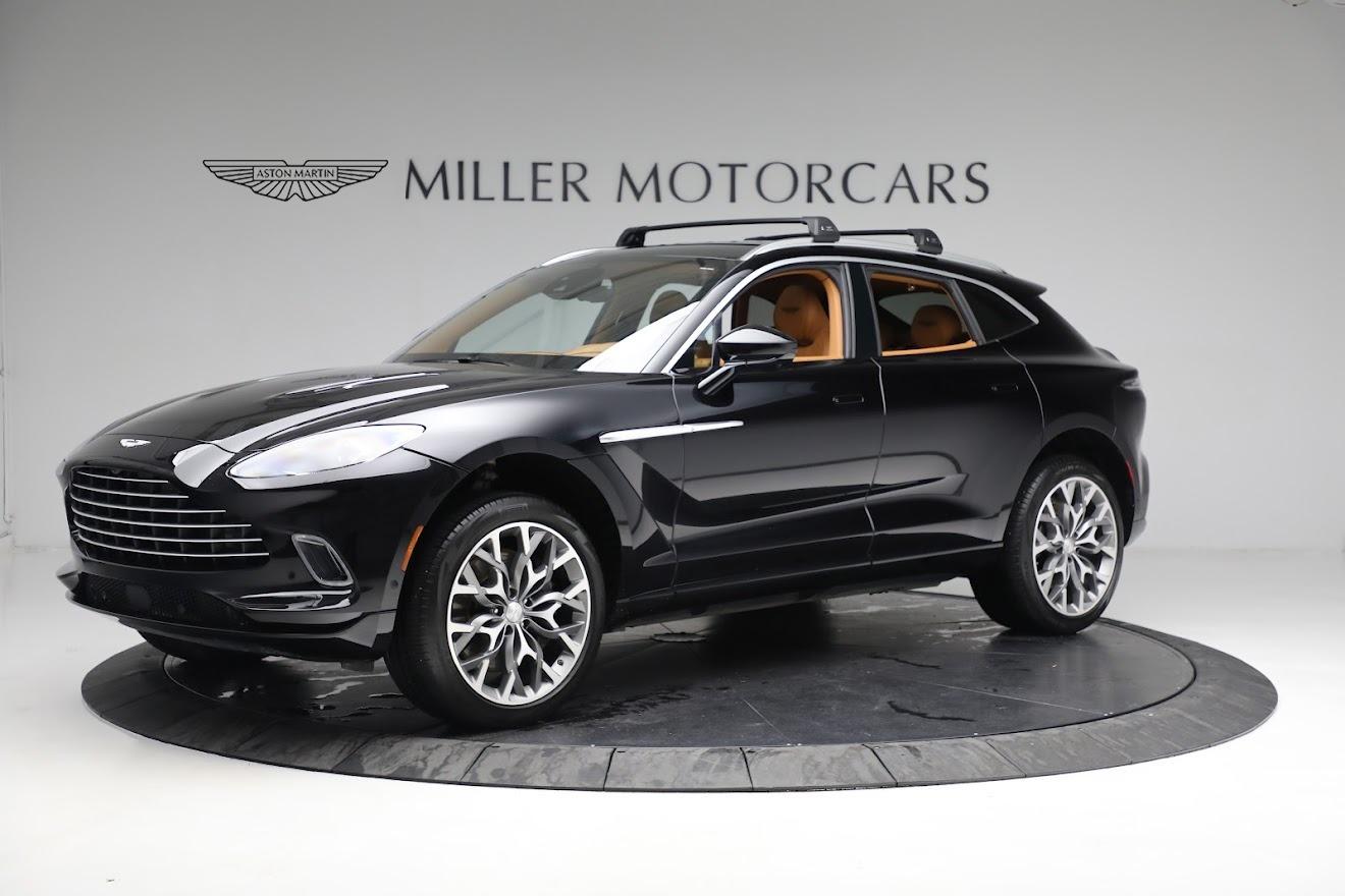 New 2021 Aston Martin DBX for sale $207,886 at Maserati of Greenwich in Greenwich CT 06830 1