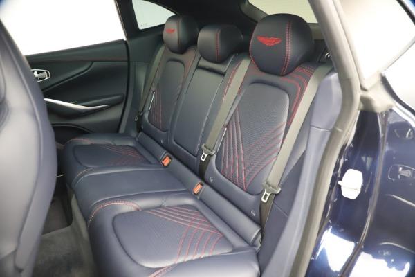 New 2021 Aston Martin DBX for sale $213,086 at Maserati of Greenwich in Greenwich CT 06830 20