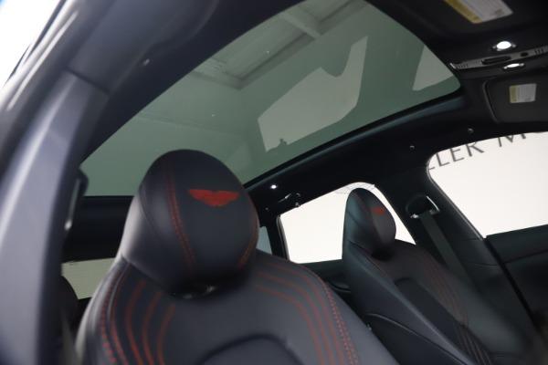 New 2021 Aston Martin DBX for sale $213,086 at Maserati of Greenwich in Greenwich CT 06830 24
