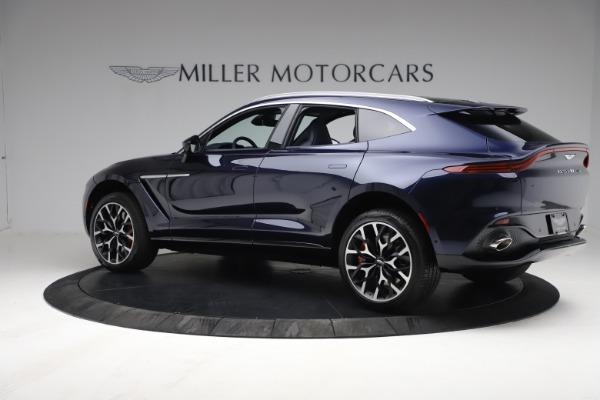 New 2021 Aston Martin DBX for sale $213,086 at Maserati of Greenwich in Greenwich CT 06830 3
