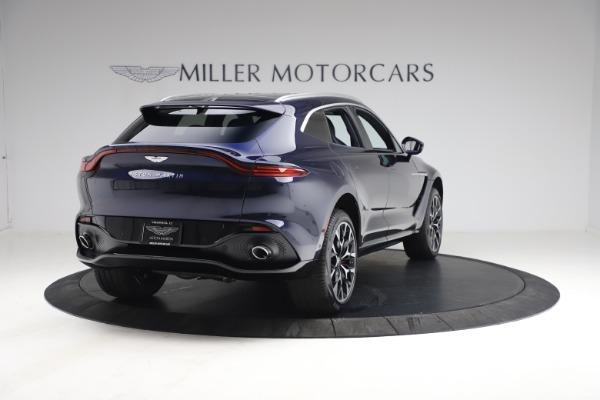New 2021 Aston Martin DBX for sale $213,086 at Maserati of Greenwich in Greenwich CT 06830 6