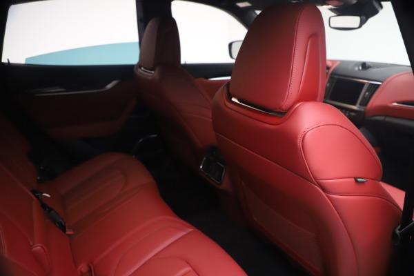 New 2021 Maserati Levante Q4 GranSport for sale $92,485 at Maserati of Greenwich in Greenwich CT 06830 24